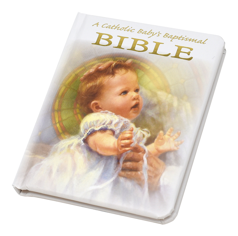catholic baby baptismal bible